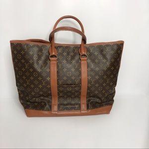 Louis Vuitton Vintage Sac Weekend GM Tote